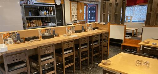 大阪の堺東・阿倍野にある、こだわり餃子ともつ鍋のお店「博多名物 鉄なべ」